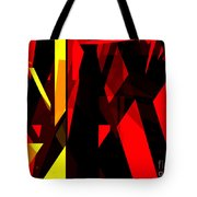 Abstract Sine L 21 Tote Bag