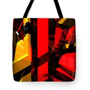 Abstract Sine L 5 Tote Bag