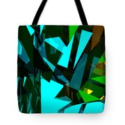 Abstract Sine L 7 Tote Bag