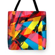 Abstract Sine P 13 Tote Bag