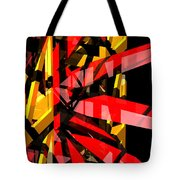 Abstract Sine P 3 Tote Bag