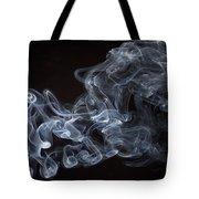 Abstract Smoke Running Horse Tote Bag