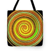 Abstract Spiral Tote Bag
