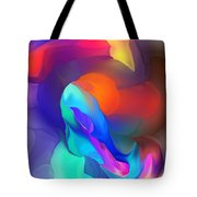 Abstract Still Life Objects De Art Tote Bag