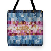 Abstract Sunset I Tote Bag