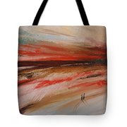 Abstract Sunset II Tote Bag