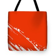 Abstract Swipe Tote Bag