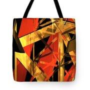 Abstract Tan 2 Tote Bag