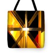 Abstract Tan 3 Tote Bag