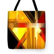 Abstract Tan 5 Tote Bag