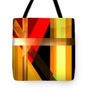 Abstract Tan 6 Tote Bag