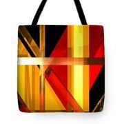 Abstract Tan 7 Tote Bag