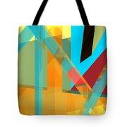 Abstract Tan 8 Tote Bag