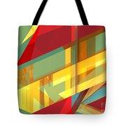 Abstract Tan 9 Tote Bag
