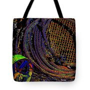 Abstract Textures Tote Bag