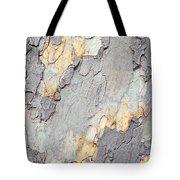 Abstract Tree Bark II Tote Bag