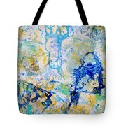 Abstract Under Water Tote Bag