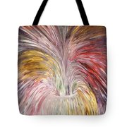 Abstract Vase And Energy Mouvement Tote Bag