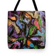 Abstrak Tote Bag