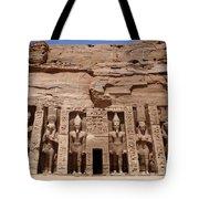 Abu Simbel Egypt 3 Tote Bag