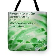 Abundance Affirmation Tote Bag