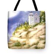 Acadia Lighthouse Tote Bag