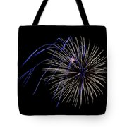 Accents Of Blue Tote Bag