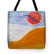 Acceptance Of Freedoms Wings Tote Bag