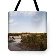 Access To The Beach Of Es Trenc Tote Bag