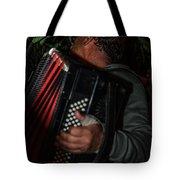 Accordionist Tote Bag by Michael Goyberg