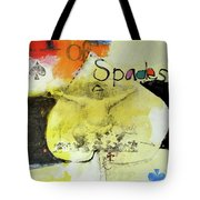Ace Of Spades 25-52 Tote Bag by Cliff Spohn
