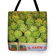Ace's Artichokes Tote Bag
