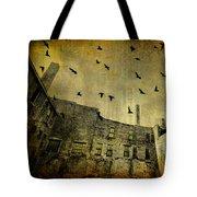 Industrial Acid Urban Sky Tote Bag