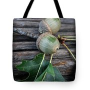 Acorns And Oak Leaves Tote Bag
