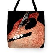 Acoustica Tote Bag