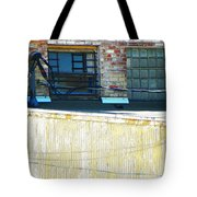 Across The Alley Tote Bag
