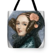 Ada Lovelace Tote Bag by Science Source