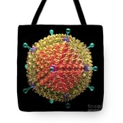 Adenovirus 36 Tote Bag by Russell Kightley