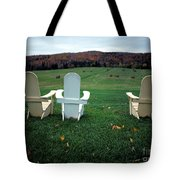 Adirondack Chairs Tote Bag