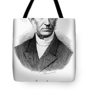 Adolphe Quetelet (1796-1874) Tote Bag