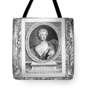 Adrienne Lecouvreur Tote Bag