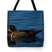 Adult Male Wood Duck Tote Bag