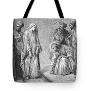Adulterous Woman Tote Bag