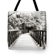 Adversity Is The First Path To Truth Tote Bag