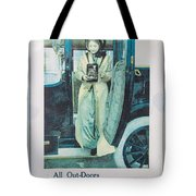 Advertisement Tote Bag