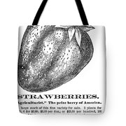 Advertisement: Strawberry Tote Bag