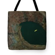 Aerial View Of An Ultralight Plane Tote Bag