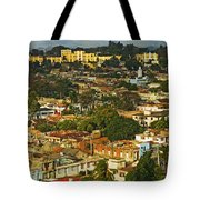Aerial View Of Santiago De Cuba, Cuba Tote Bag