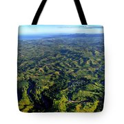 Aerial View Of The Nadi River Winding Tote Bag