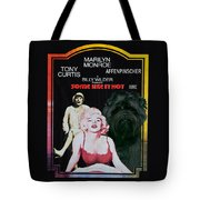 Affenpinscher Some Like It Hot Movie Poster Tote Bag